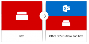 ioT bttn Office365 and Flow